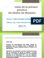 SOLUCIONARIO PRACTICA 1 - DISEÑO DE MAQUINA