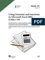 151 Formulae 2002