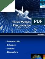 Taller Medios Electronicos (COENER)