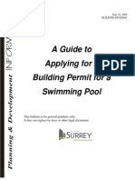 Swimming pool permit info