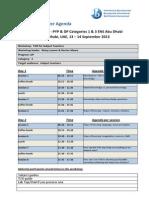 agenda template
