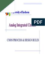 4 CMOS Process & Design Rules