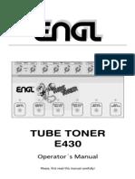 OM D E430 Tube Toner