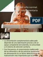 Alimentación del niño normal alimentacion complementaria
