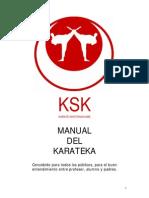 Manual Karate