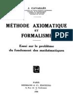 [Cavaille]_Méthode_axiomatique_et_formalisme_