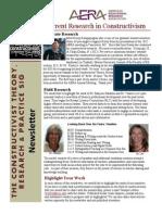 Constructivist SIG Newsletter September 2013 Edition