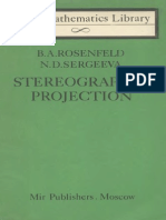 MIR - LML - Rosenfeld B. a. and Sergeeva N.D. - Stereographic Projection