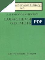 MIR - LML - Smogorzhevsky a. S. - Lobachevskian Geometry