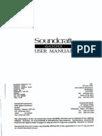 Sound Craft 6000 Ug
