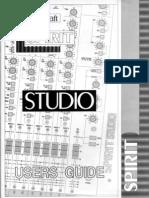 Spirit Studio User Guide