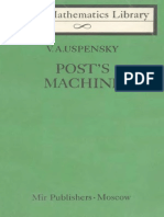 MIR - LML - Uspensky v. a. - Posts Machine