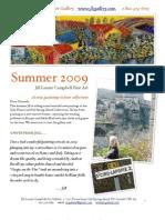 Summer Catalogue 2009