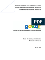 Guia de Interoperabilidade Manual Do Gestor 2012