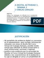 Evidencia Digital Actividad 3, Semana 3