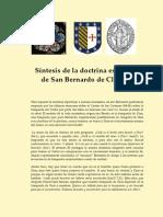 Síntesis de la doctrina espiritual de San Bernardo de Claraval
