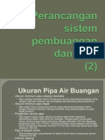 Perancangan Sistem Pembuangan Dan Vent