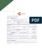 Formato de Afiliacion EPS