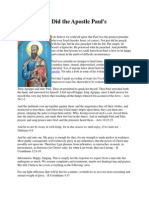 What Gospel Did the Apostle Paul