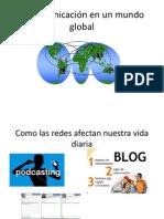 La comunicación en un mundo global
