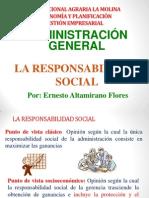 D.responsabilidad Social