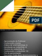 Introdução ao Estudo de Violão