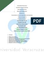 Prelaboratorio, Practica 1 Quimica