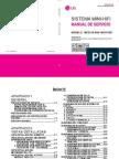 10218 LG MCD112-A0U MCS112F Sistema Audio Mini Con CD-Casette Manual de Servicio