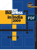 Doing Business in India 2009 - Full Report by http://trak.in