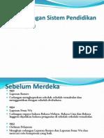 K 1 Sistem Pendidikan Di Malaysia