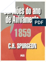C. H. Spurgeon - Sermões do Ano de Avivamento