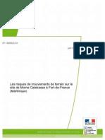 Glissement Morne Calebasse Rapport Experts
