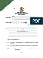 Companies Declaration of Compliance Form 2 (Cpc Version 3)