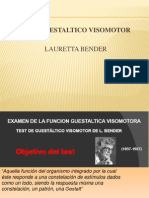 Clase 1 Test Visomotor de Bender.pptx