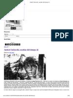 Andrei Tarkovski, Escultor Del Tiempo (I)