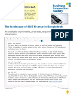 ProjectResourceLandsapeofSMEfinanceinBangladesh_Dec2012