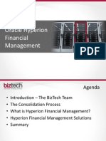 Oracle Hyperion Financial Management
