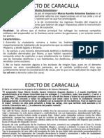 Edicto de Caracalla