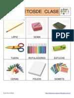 Bingo de Objetos de Clase Fotos