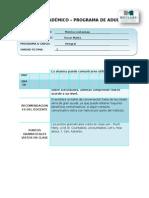Formato Reporte Academico Adultos 2013