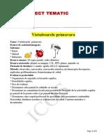 153795566 Proiect Tematic Vietuitoarele Primavara
