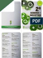 Folder Semana da Indústria