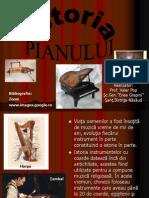 istoria pianului