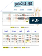 Calendar Anul Scolar 2013-2014 TIPAR