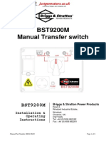 BST9200 M Owners Manual