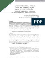 El fin histórico de la ciudad - acerca del vínculo entre arquitectira y policía [Artículo]