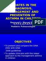 Asthma Lecture Cagayan de Oro Pediatric A 2008