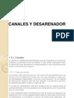 8_Canales y Desarenador