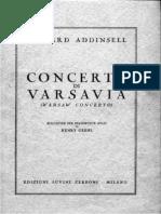 Addinsell - Concerto Di Varsavia