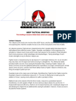 Robotech tactical briefing